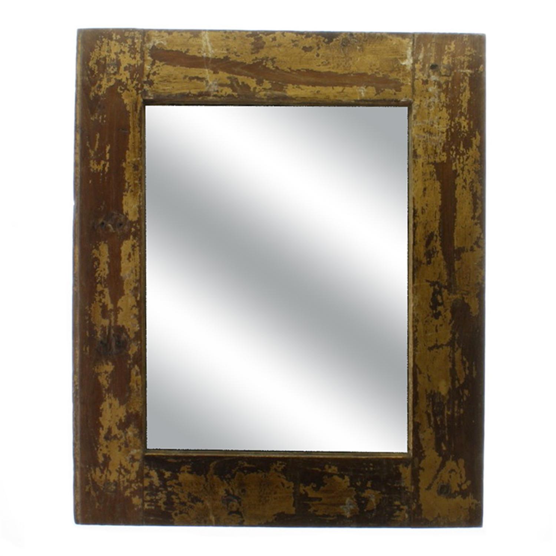 2585-0-Window Frame Mirror - Salvaged Wood by Homart