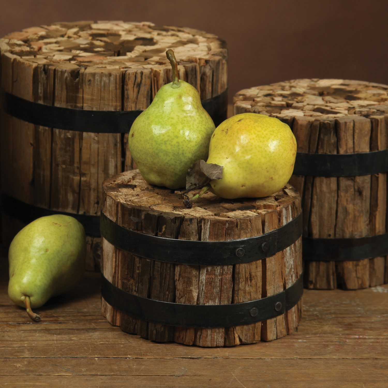 2725-0-Round Wood Bundle - 6x4  by Homeart