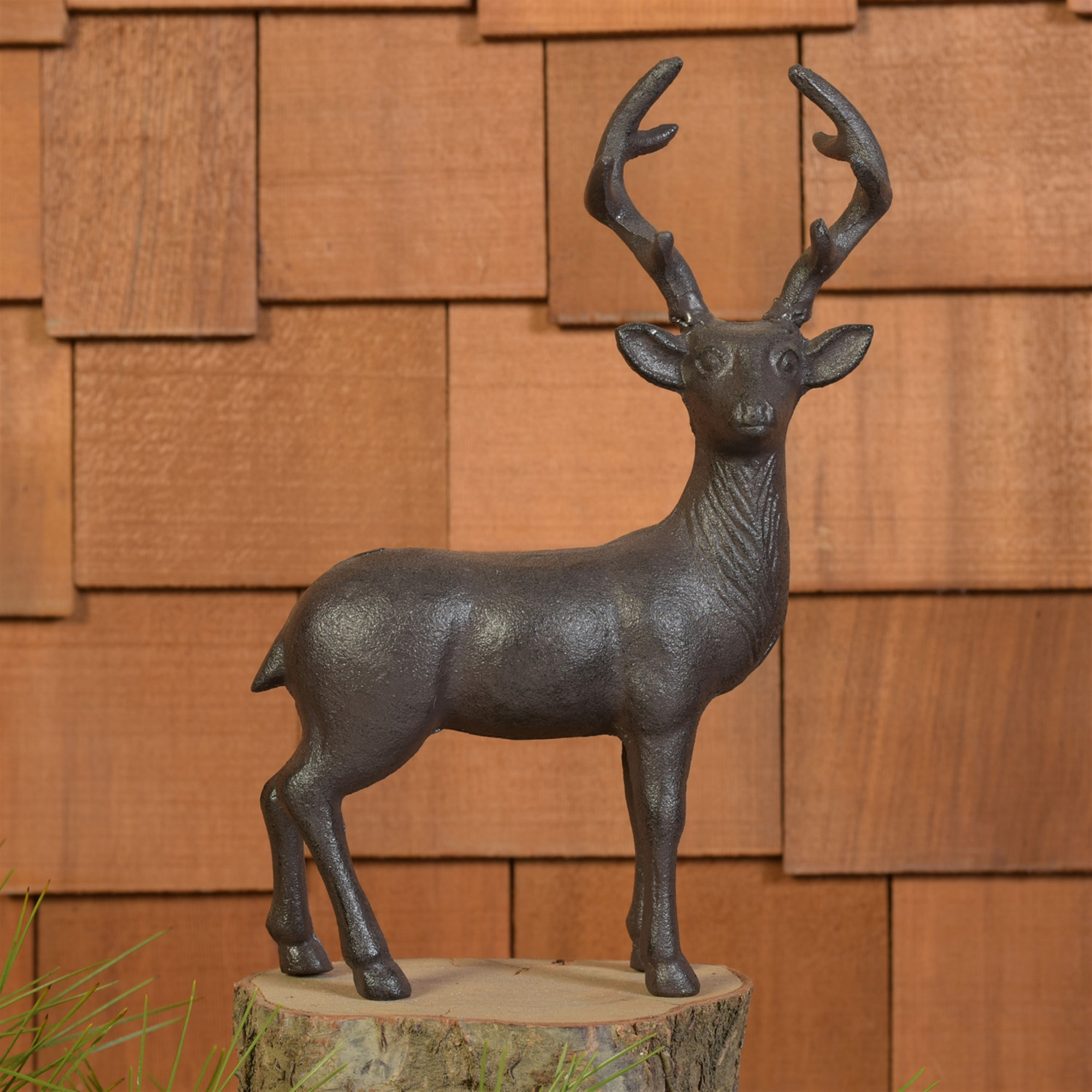 3548-13 - Stag - Cast Iron - Brown by HomArt
