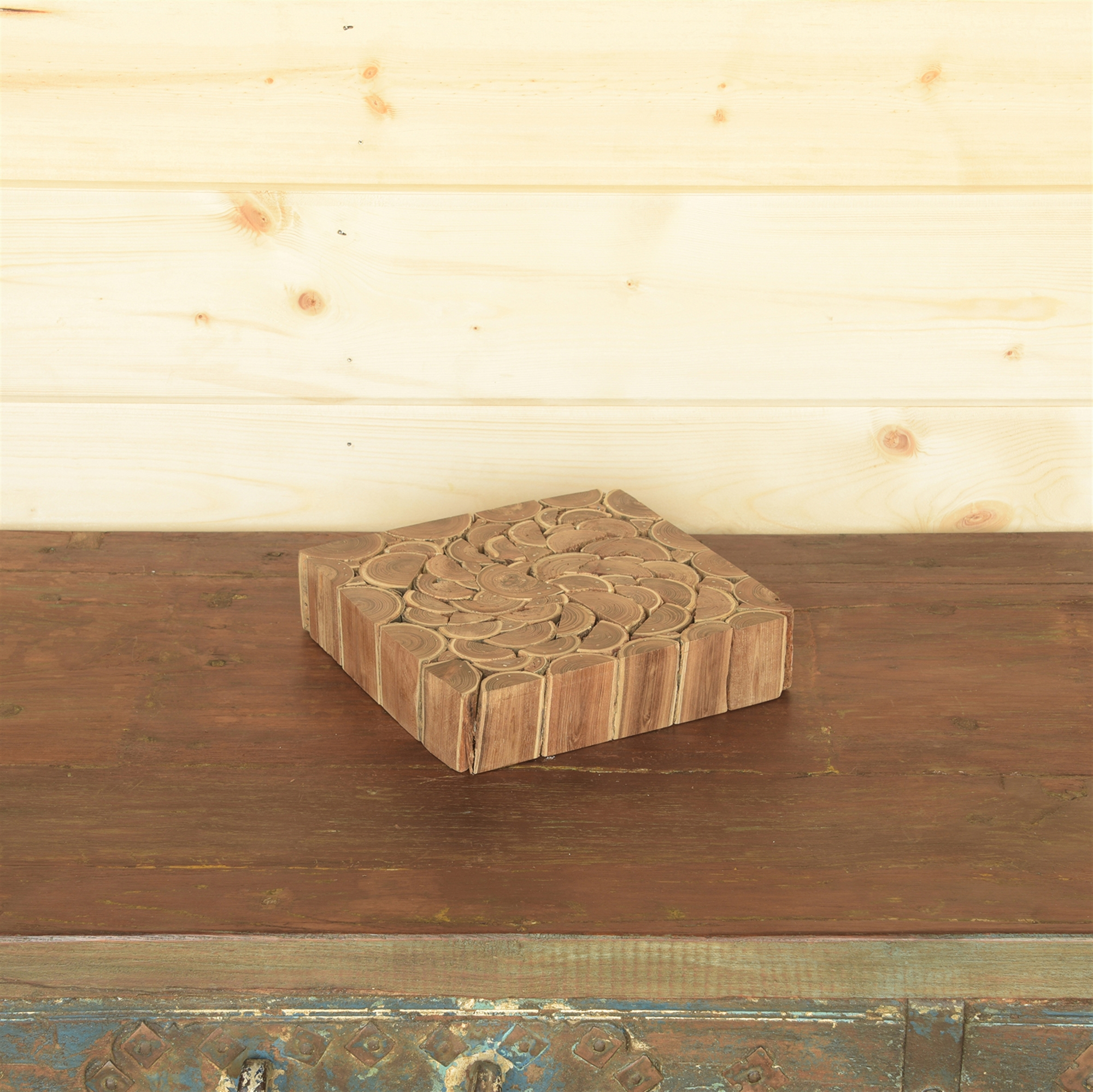 5052-0 - Set of 2 - Wood Riser -  Small by HomArt