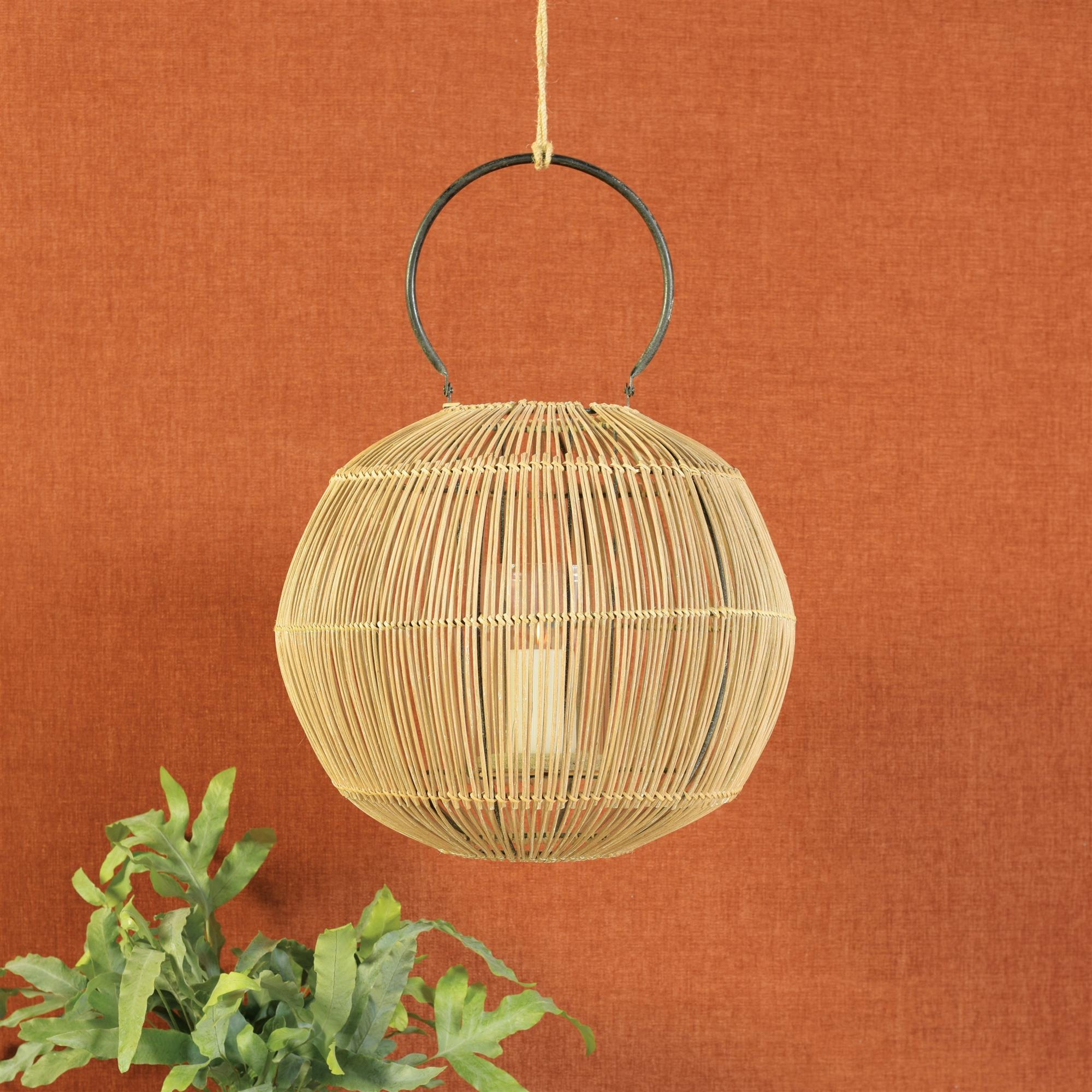 5175-0-Astrid Rattan Lantern by HomArt
