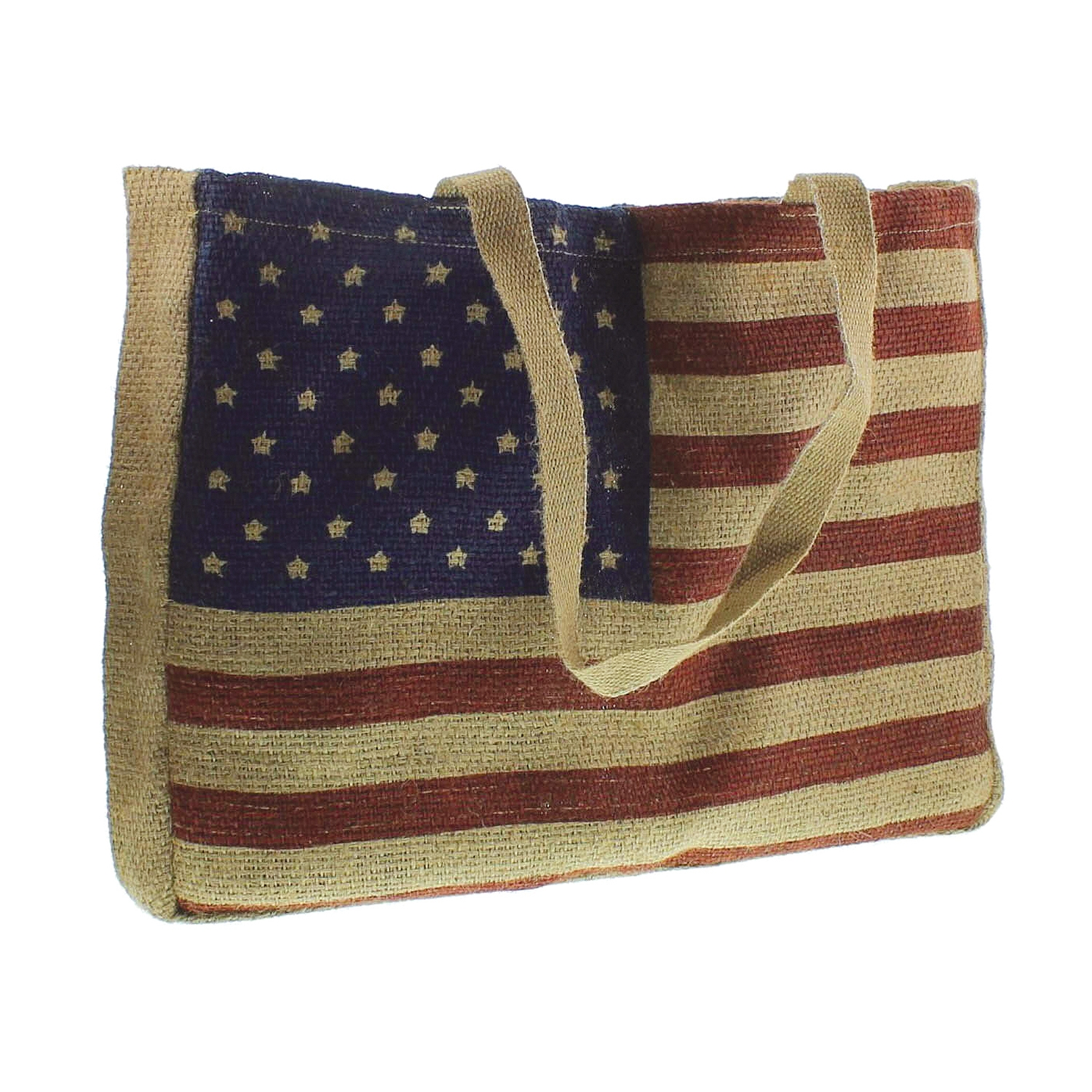 9905-101 - Twill Tote - Old Glory Flag by HomArt