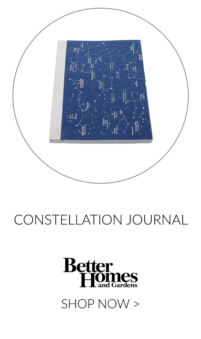 RECYCLED PAPER JOURNAL - CONSTELLATIONS